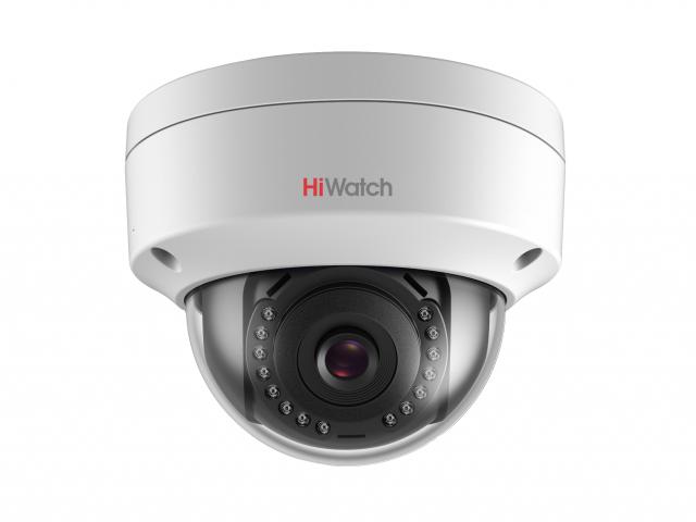 4Мп уличная купольная IP-камера HiWatch DS-I402 (4mm; 6mm)