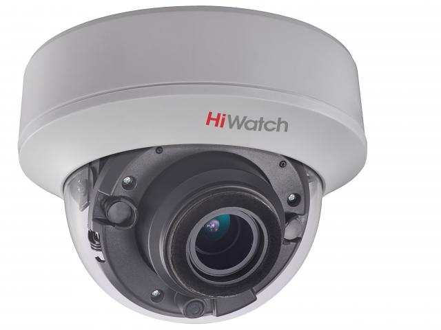 Внутренняя купольная HD-TVI камера HiWatch DS-T507 (C) (2.7-13.5 mm)