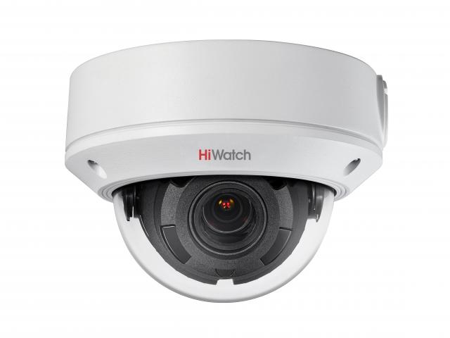 Уличная купольная IP-камера HiWatch DS-I458 (2.8-12 mm)