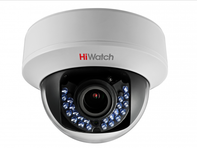 Внутренняя купольная HD-TVI камера HiWatch DS-T107