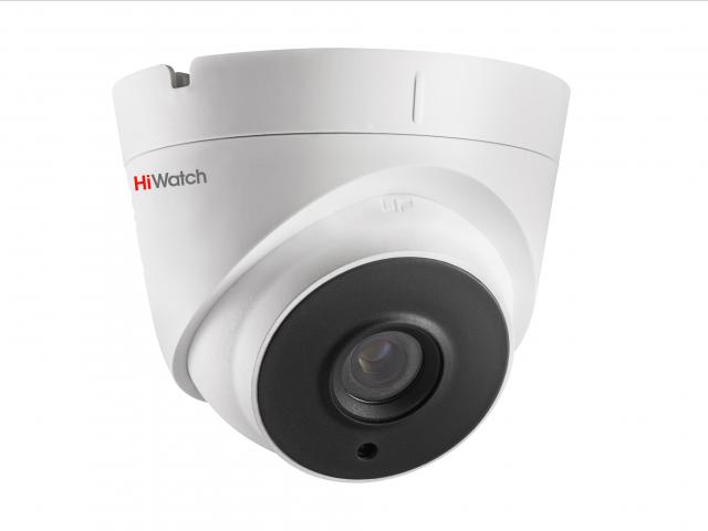 Уличная купольная HD-TVI камера HiWatch DS-T203P