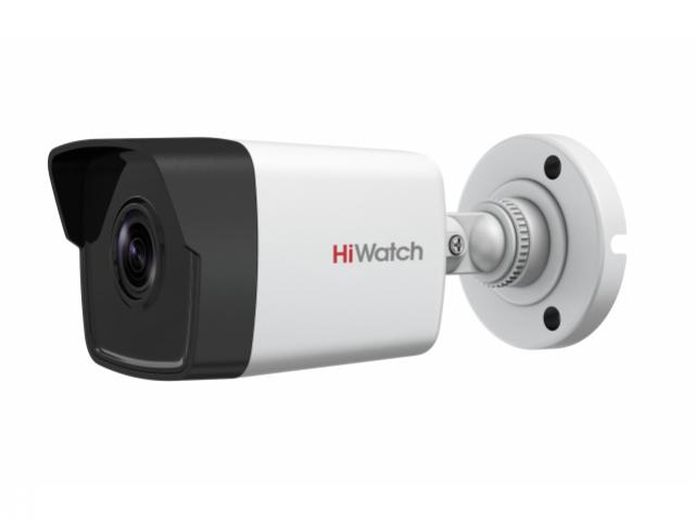 Уличная цилиндрическая IP-камера HiWatch DS-I200(B)